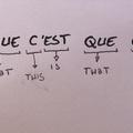 La logique française