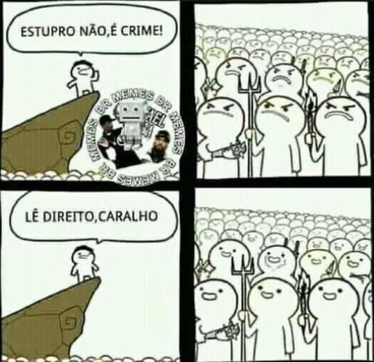 Caraio - meme