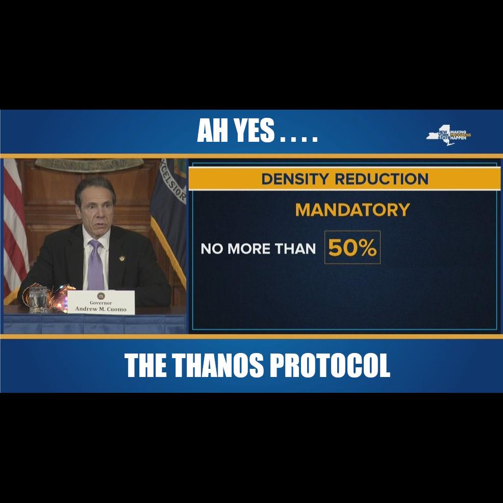 Thanos Protocol - meme