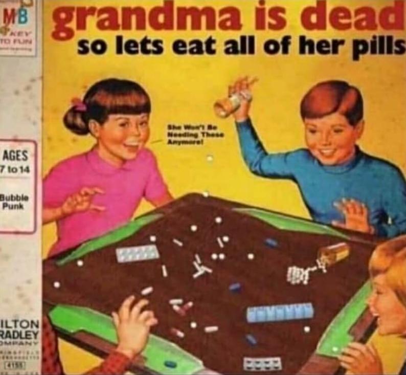 Whoever wins gets to see Grandma - meme