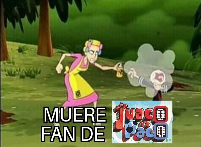 Es increíble que haya gente que alabe a esta cosa solo por el hecho de que es una serie hecha en Colombia - meme
