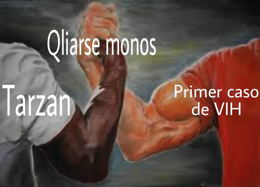 Qliarse monos - meme