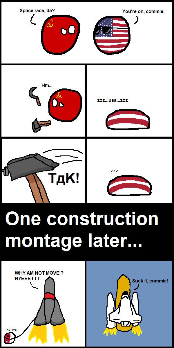Red rocket - meme