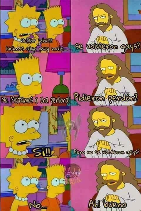 Spoiler: Lisa lo hace por un tiempo - meme