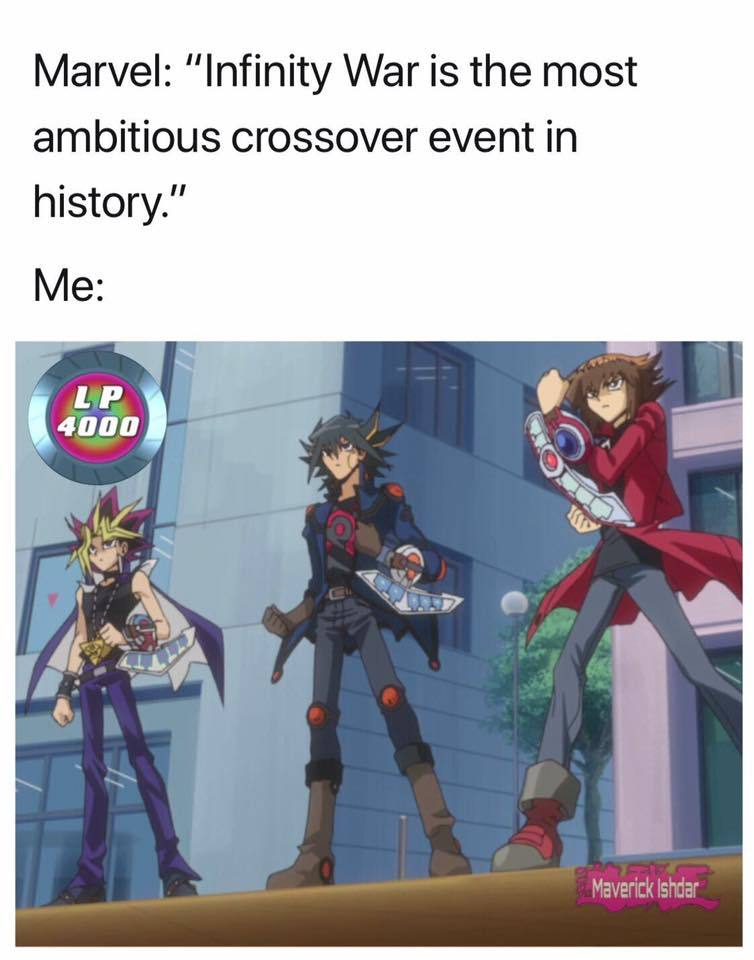 estos si son crossovers legendarios - meme
