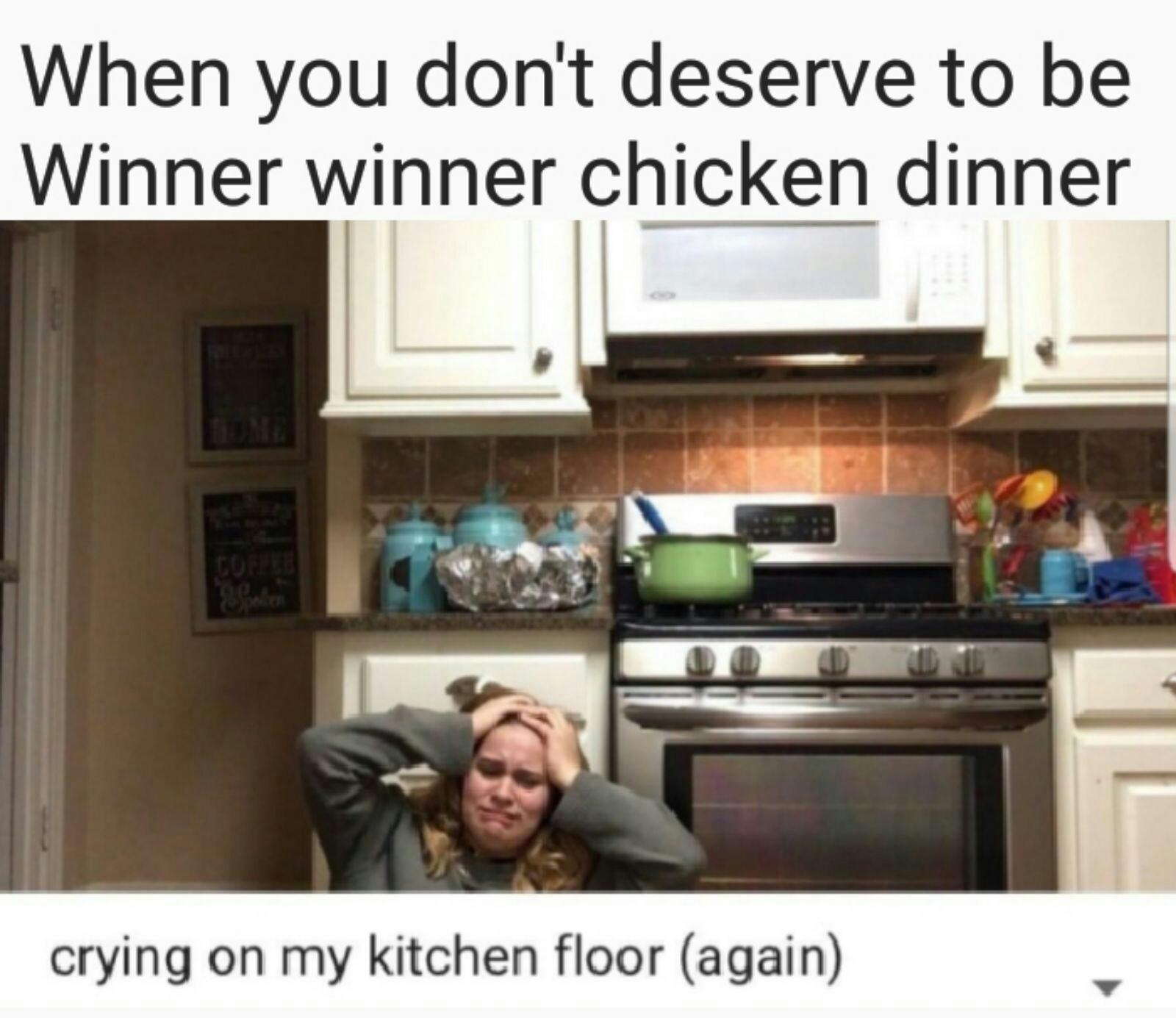No chicken - meme