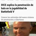 Battlefield y sus penetraciones de bala ( ͡° ͜ʖ ͡°)