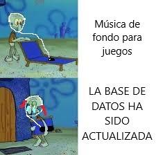 LA BASE DE DATOS HA SIDO ACTUALIZADA - meme