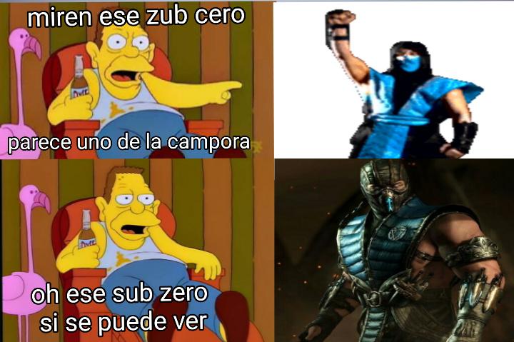 Sub zero K - meme