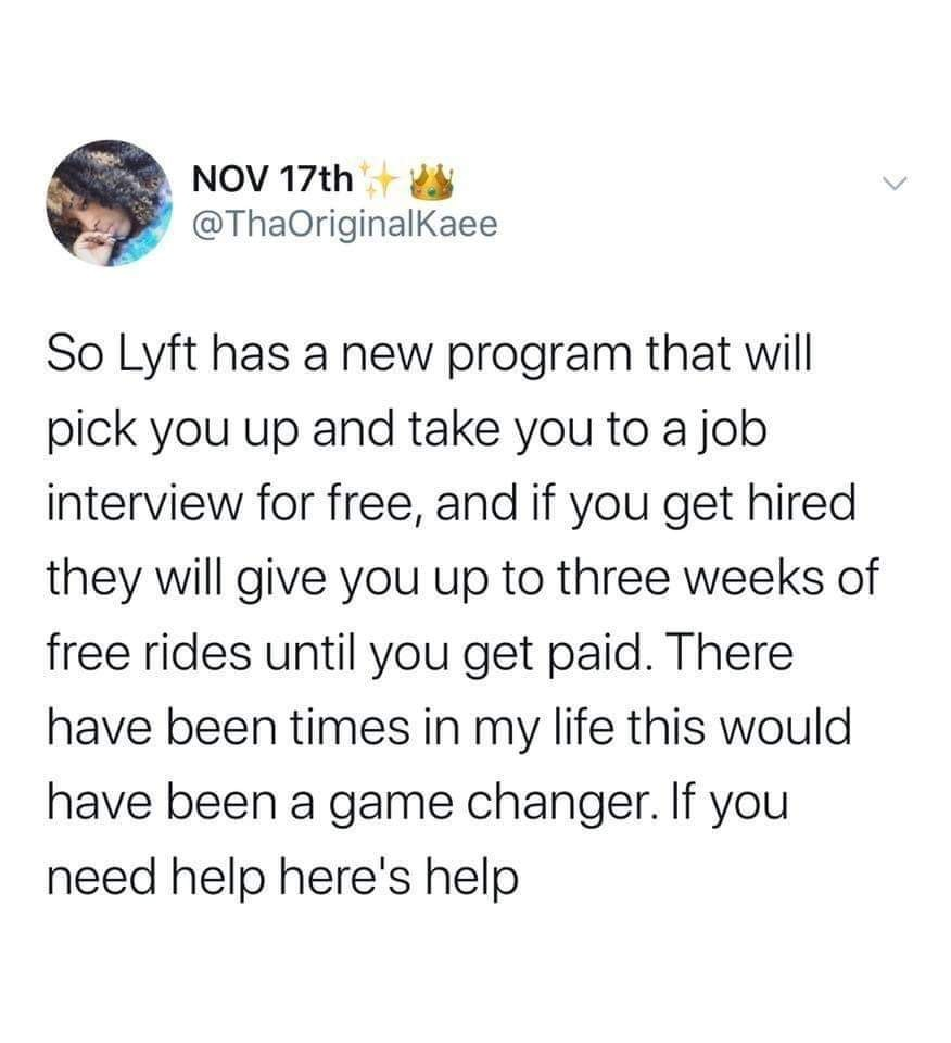I was a Lyft Driver and this is mind blowing they would do this :) - meme