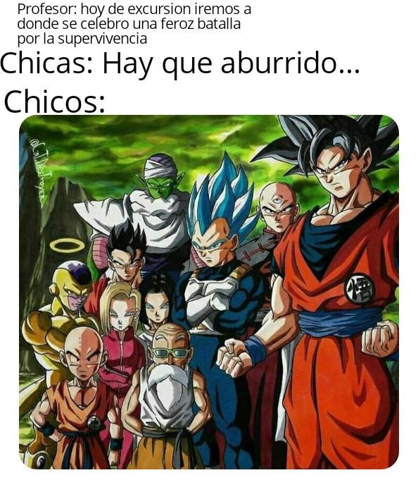 Guerreros Z - meme