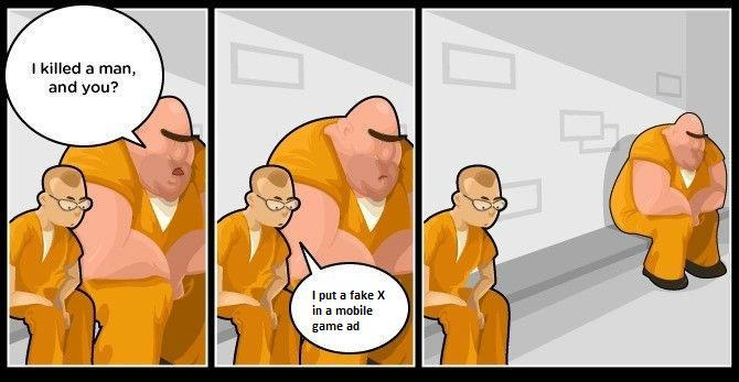 Fake X - meme