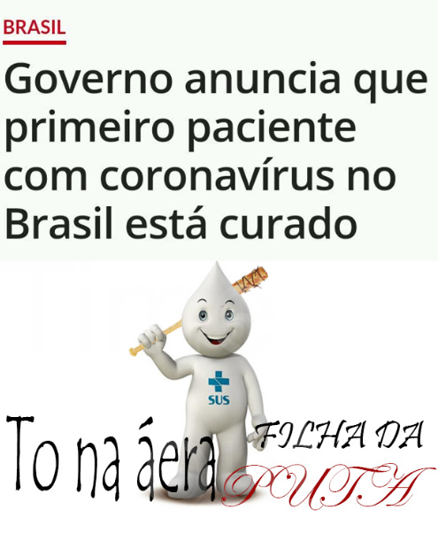 CaracaVírus - meme