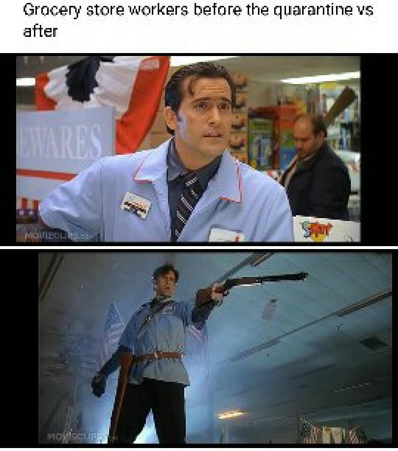 Evil dead is a great series. - meme