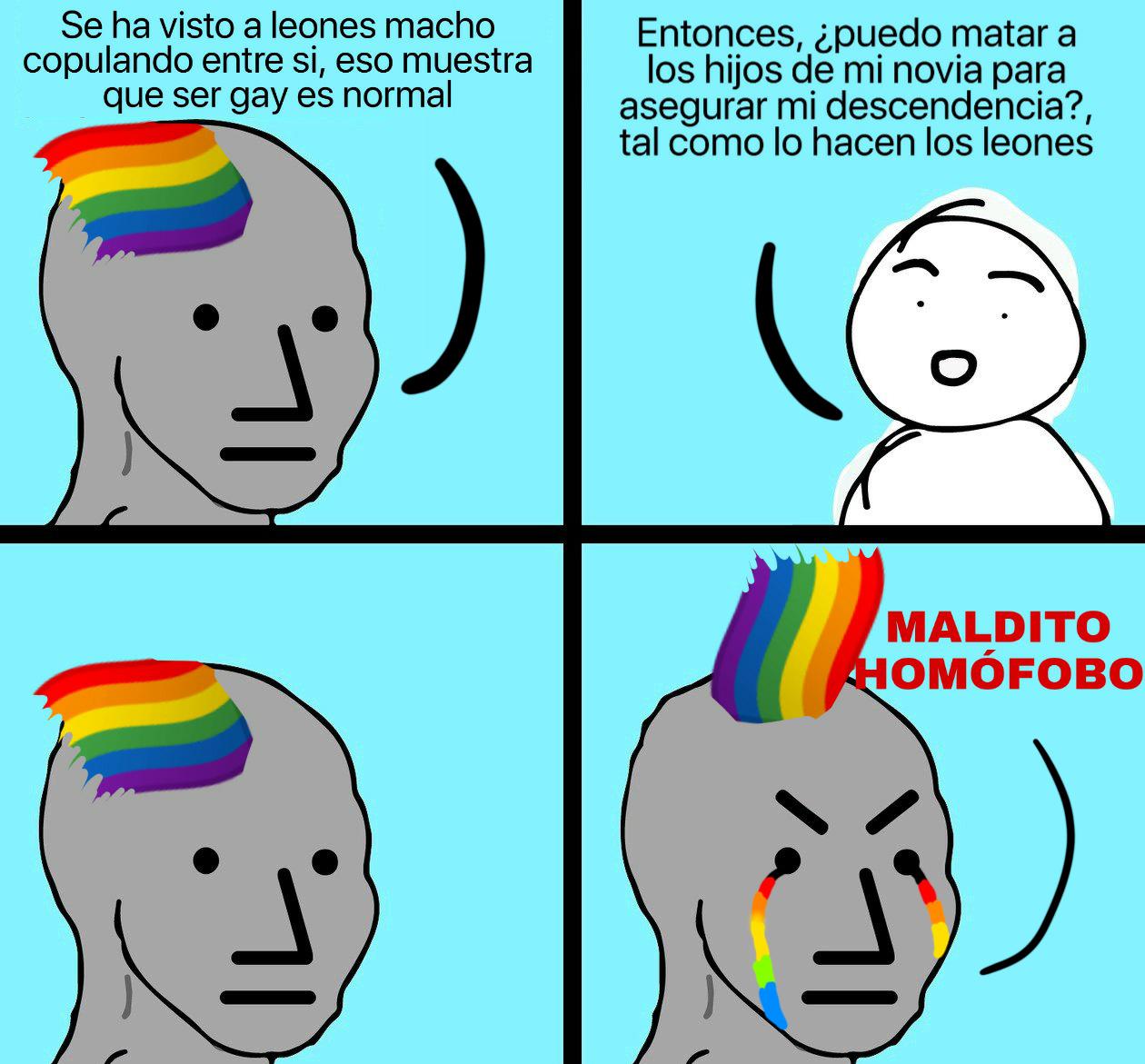 NPC llorando, simplemente maravilloso - meme