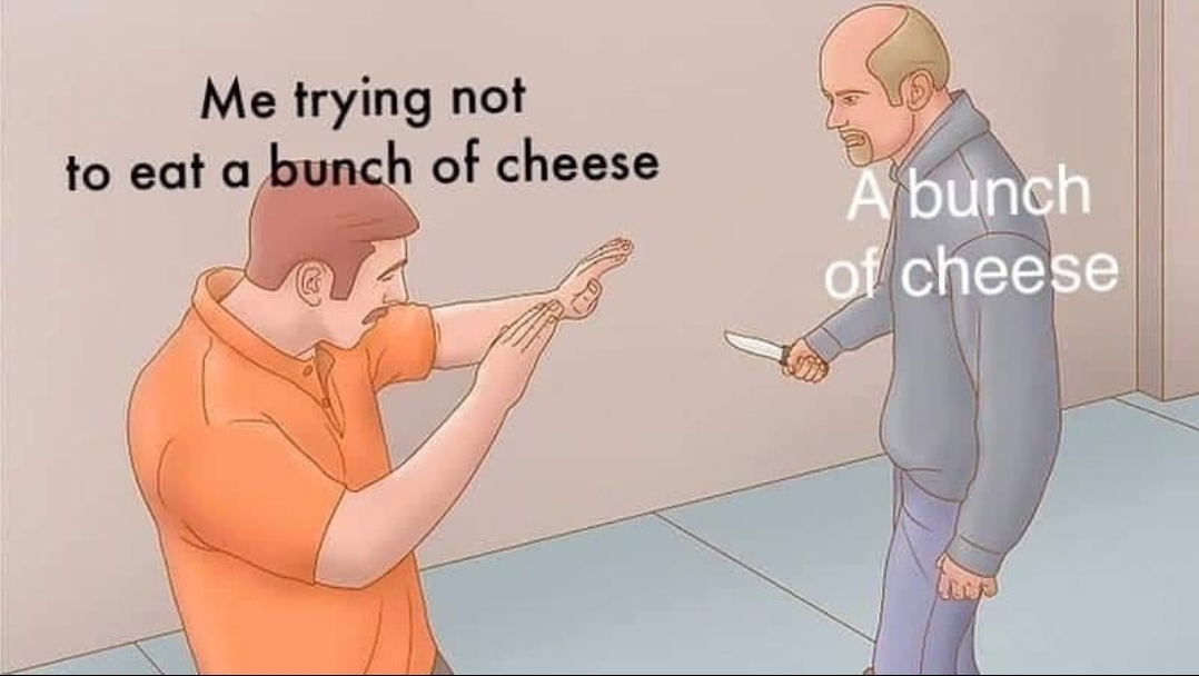 What's your fav cheese? - meme