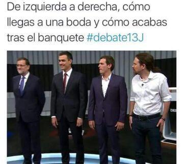 PP PSOE C'S PODEMOS - meme