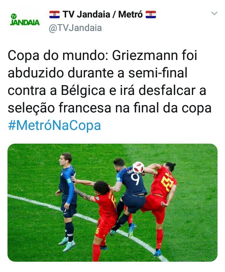 Pobre Griezmann - meme