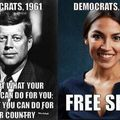 Although the Green New Deal does want to repeal the Patriot Act...
