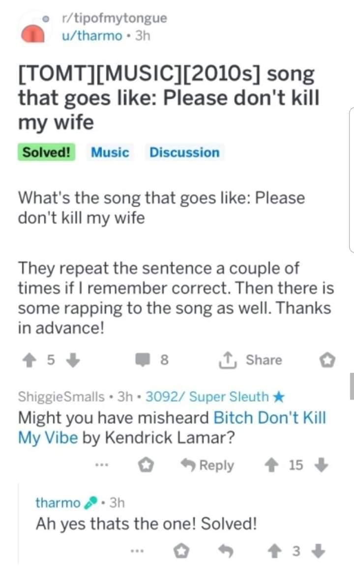 Please dont kill my wife - meme