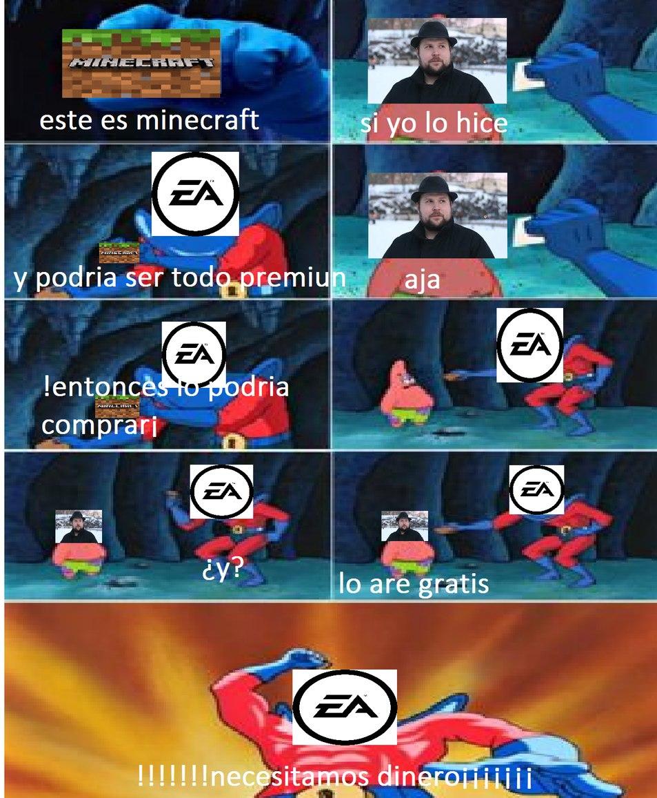 !ay dios mio EA! - meme