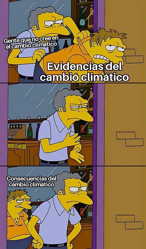 Me encanta como la gente se moría de miedo por la mierda de los mayas y a nadie le importa la evidencia real - meme