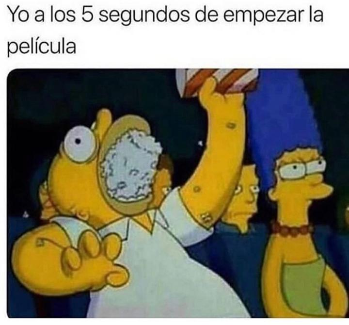 Homer come - meme