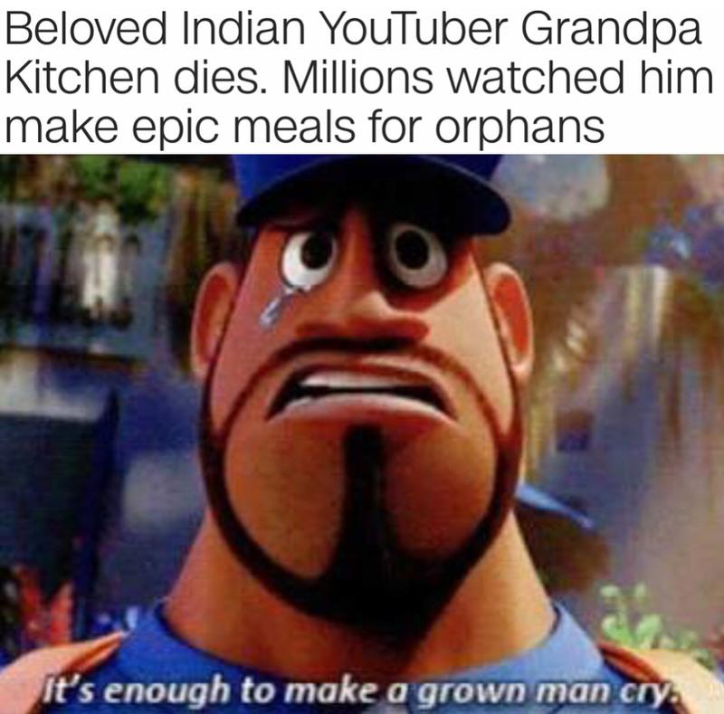 F for the Grandpa - meme