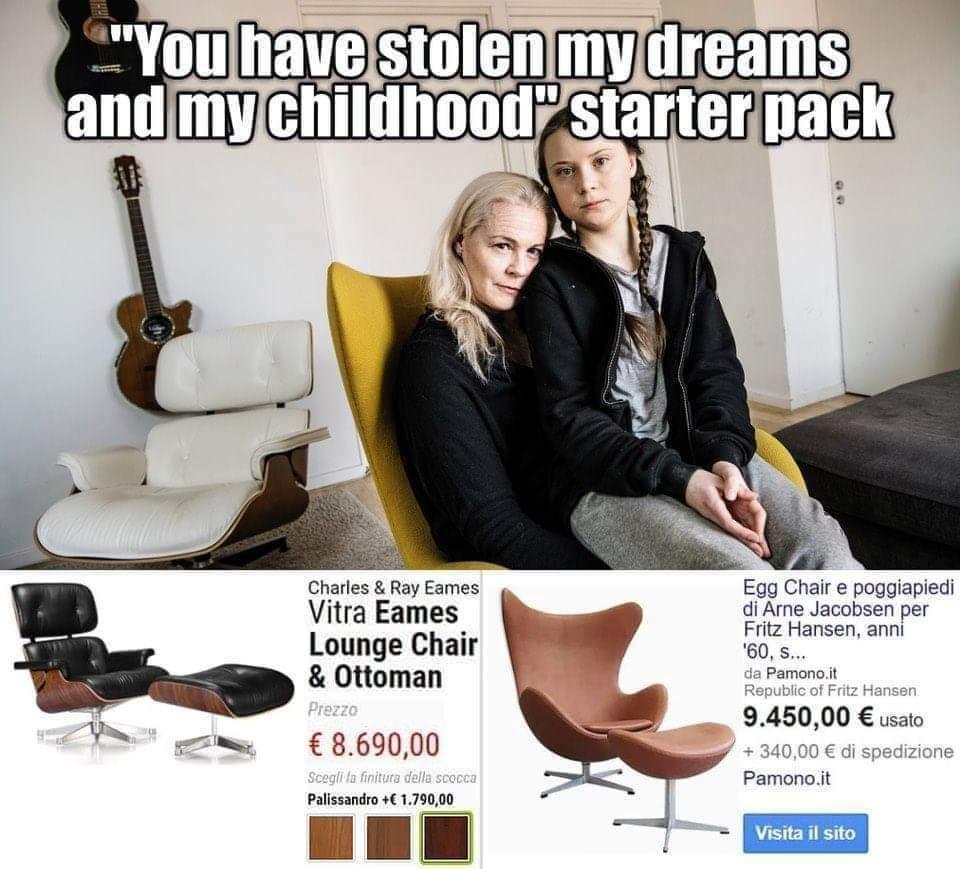 That poor girl! - meme