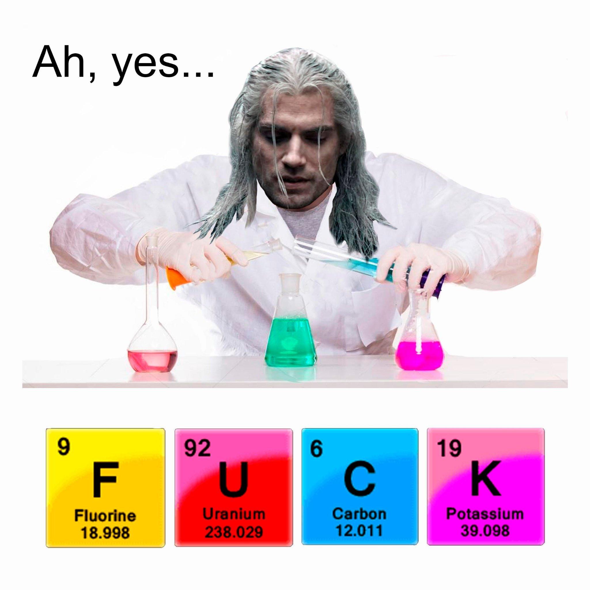 Hidrogênio + Manganês - meme