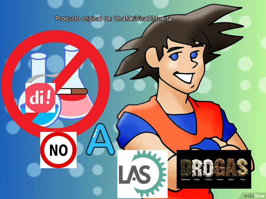 Kokun dice que no a la droga - meme