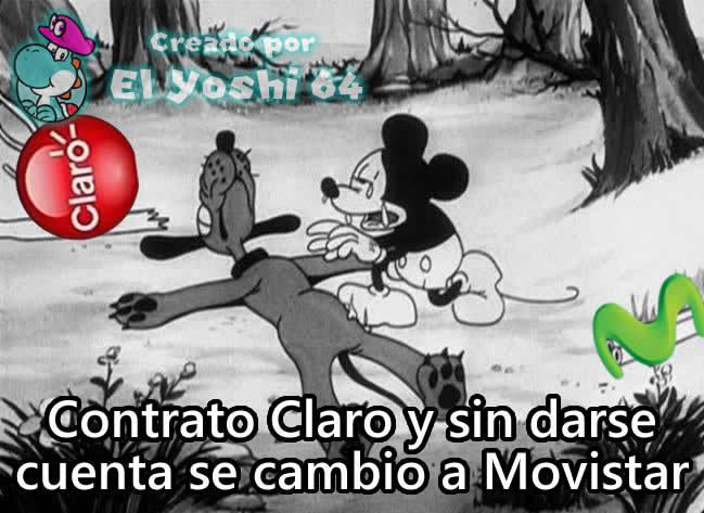 Esos de Movistar - meme