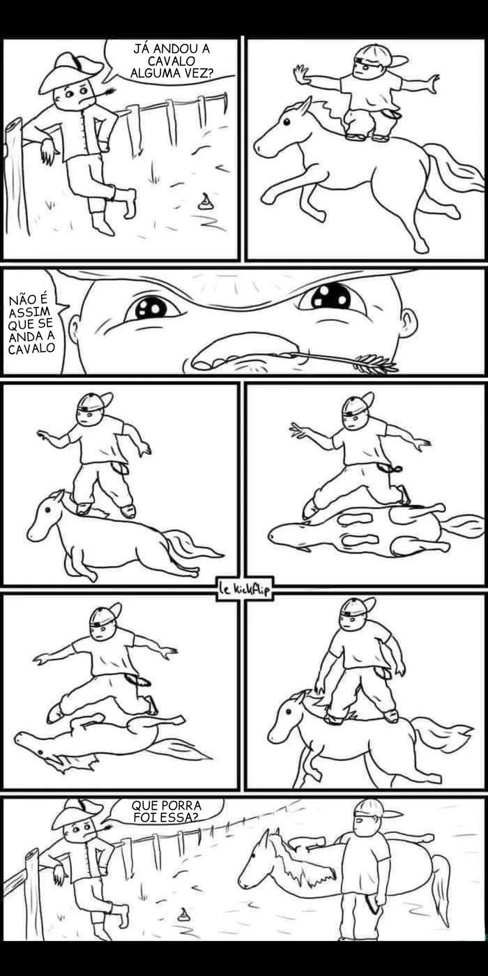 Tony horse - meme