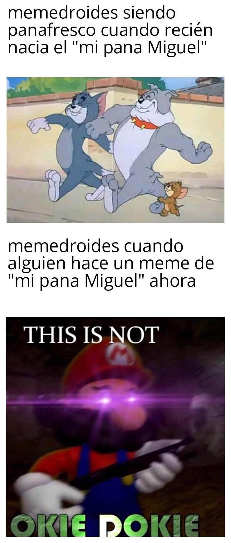 Díganle no a los pañalfrescos - meme