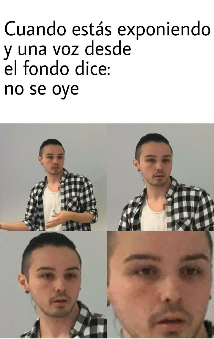 8cho y sus caras - meme