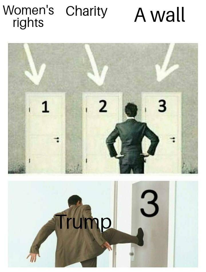 Fck trump - meme