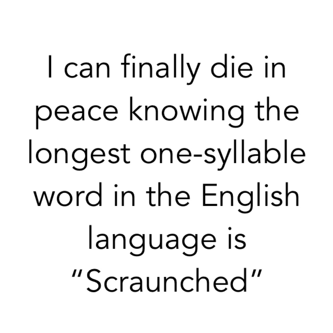 What in heck does scraunched even mean though - meme