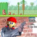 Explicación: Si Mario salta sobre el muere, pero está sobre el y no muere