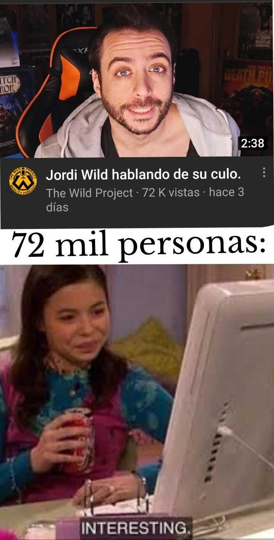Jordi Wild - meme