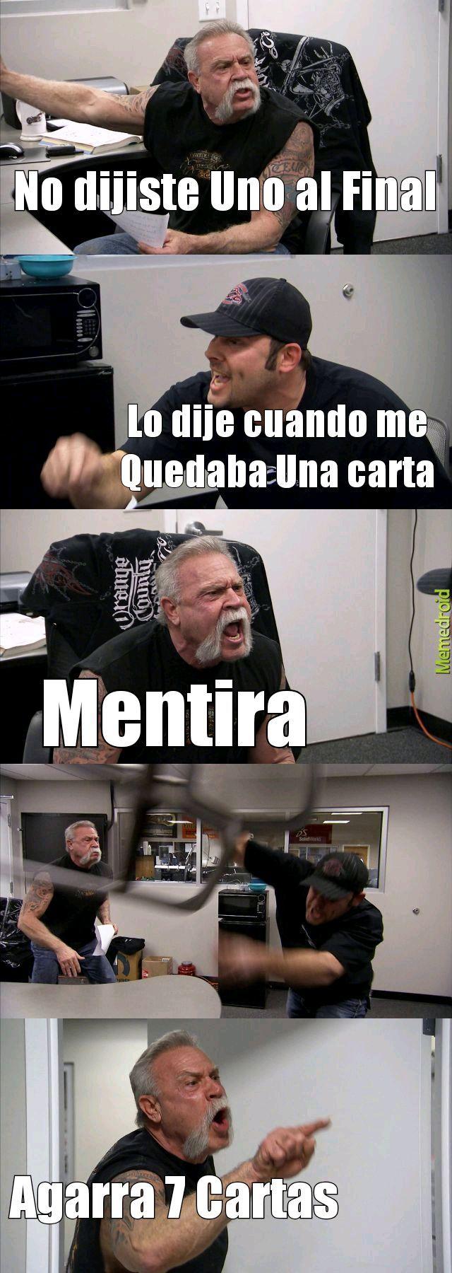 Yo si dije Uno - meme