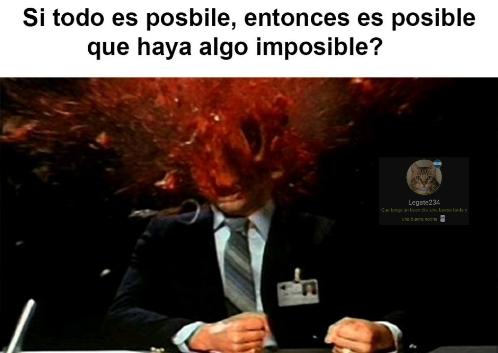Posibilidades - meme