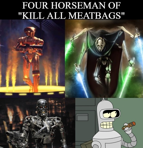 Kill all humans - meme