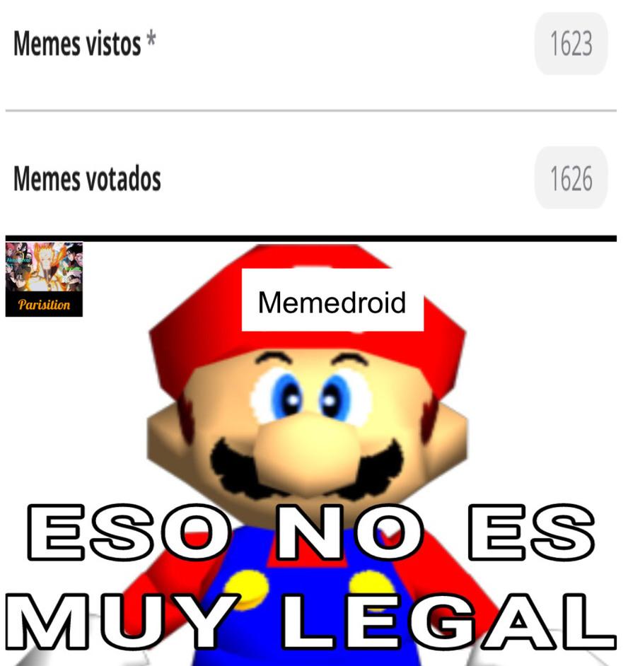Eso es ilegal - meme