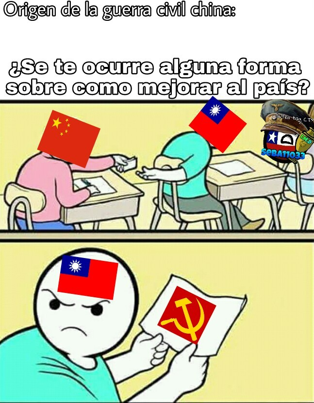 No es Taiwan, es China capitalista ;) - meme