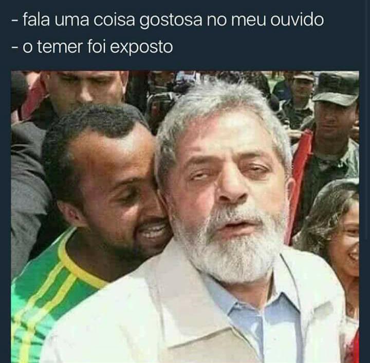 #lulapreso2018 - meme