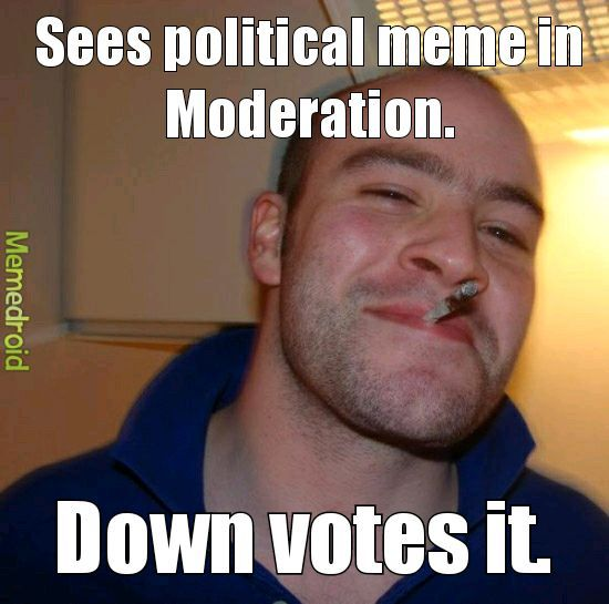 Get rid if political memes