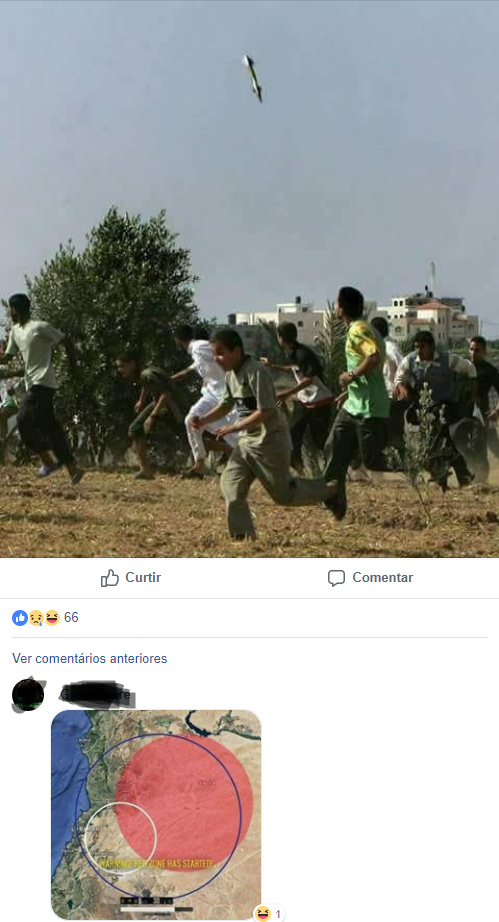 ''olha a bomba dos EUA ai'' - meme