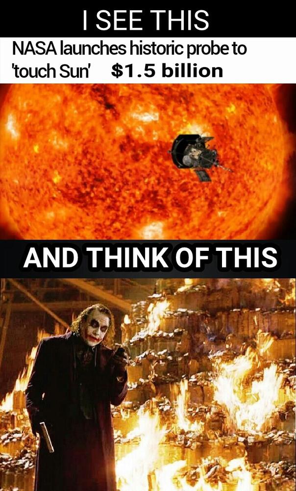 Burn baby burn... - meme