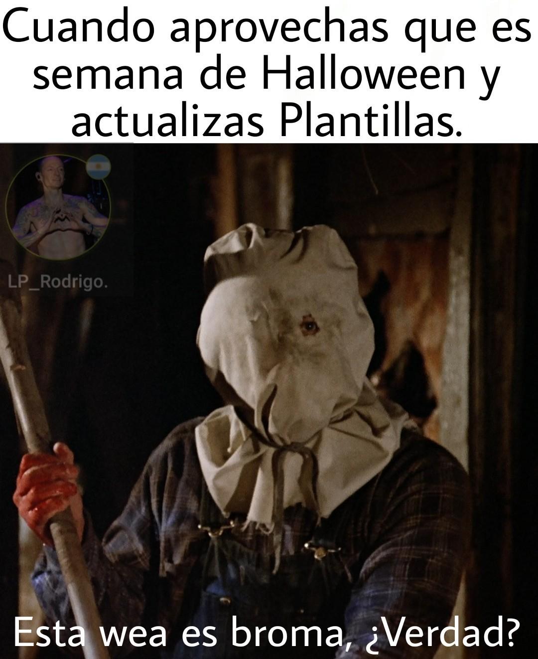Feliz Halloween. :) - meme