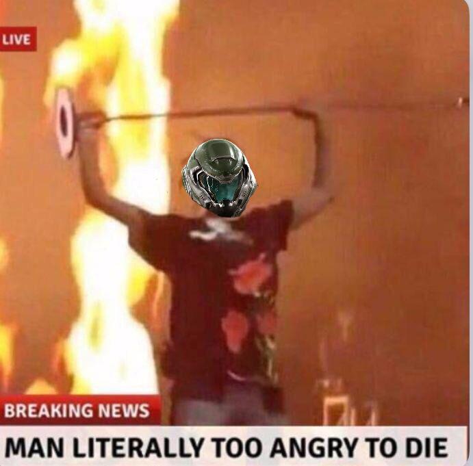 Doom eternal looking nice - meme